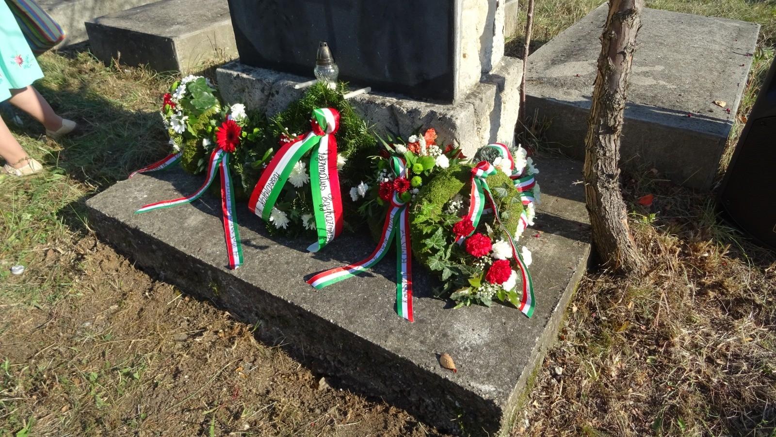 Az egeresi magyarellenes vérengzés áldozataira emlékeztek