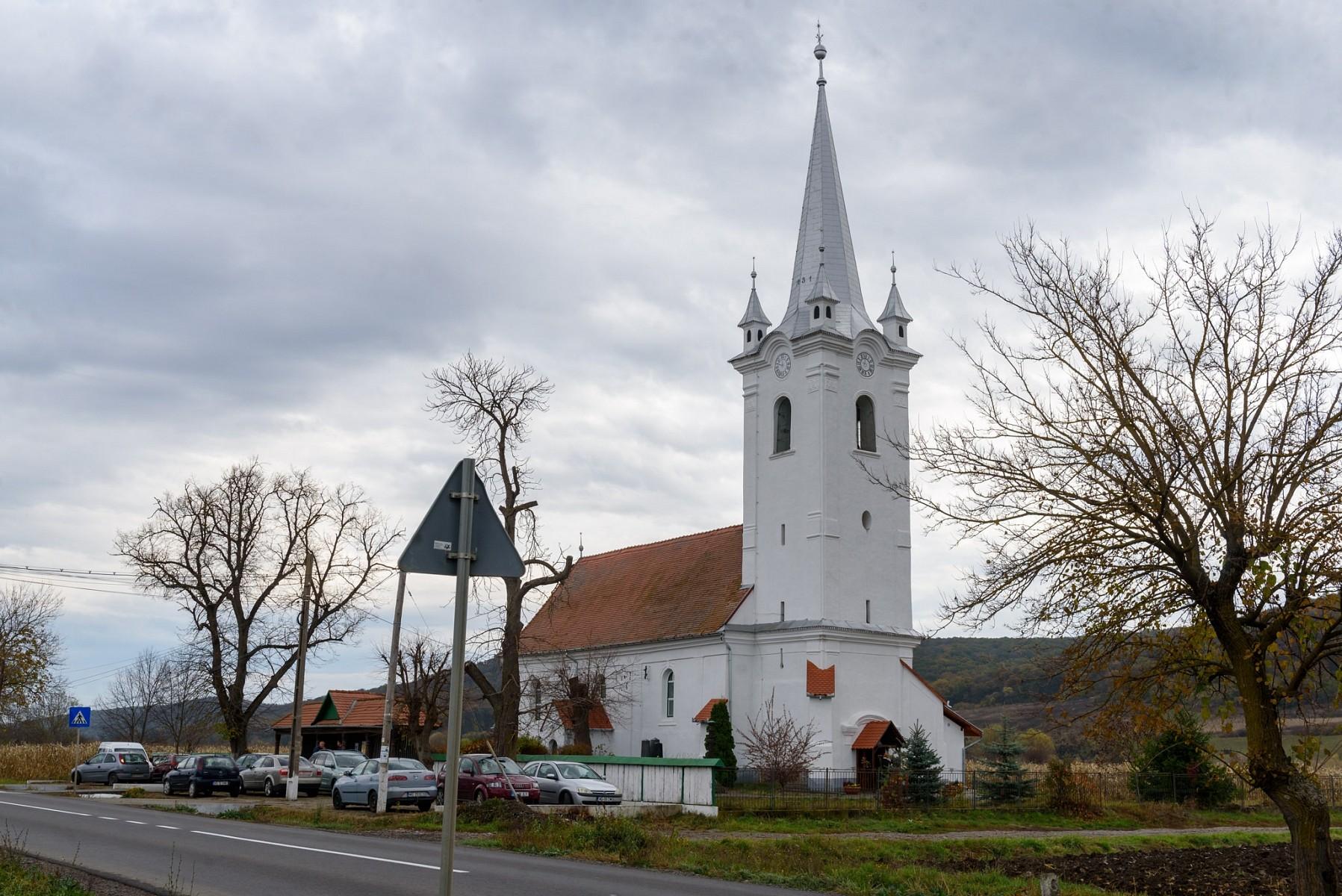 Teljesen megújult a lukailencfalvi templom
