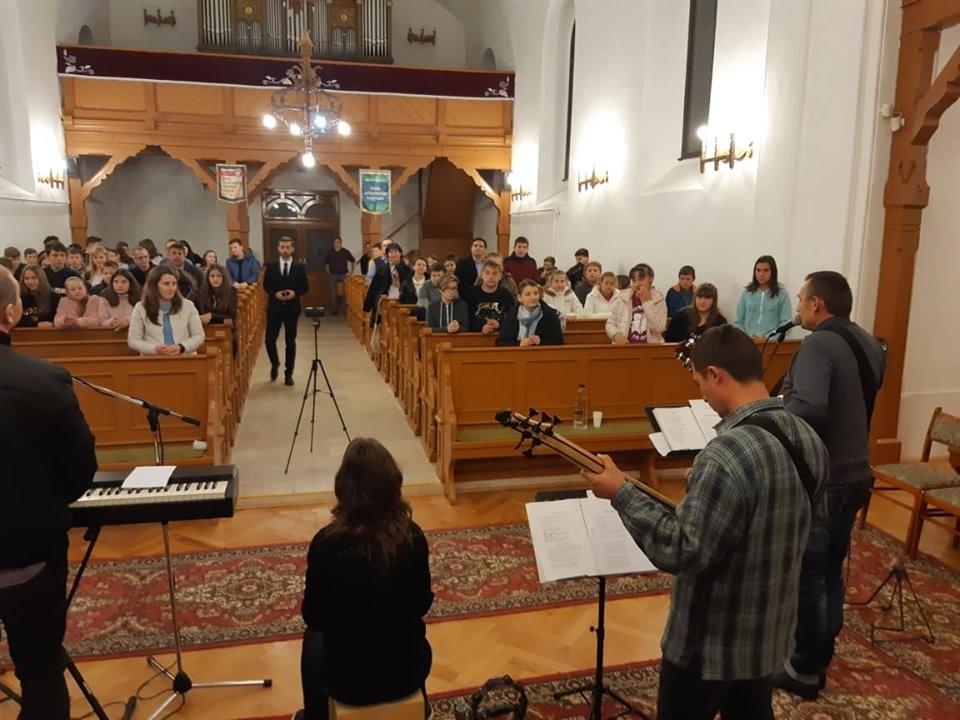 Alsó-Maros menti ifjúsági találkozó Marosludason