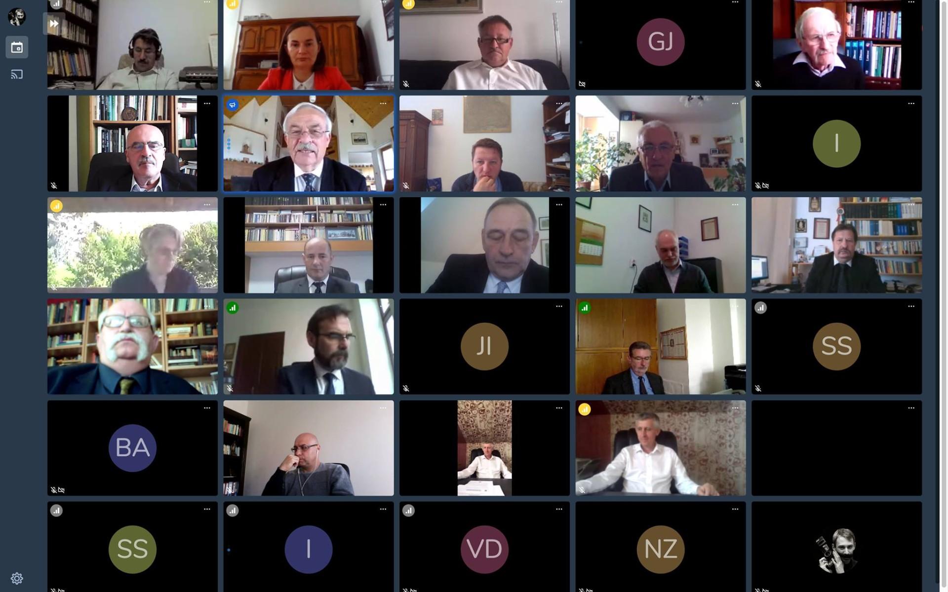 Online ülésezett az EREK Igazgatótanácsa